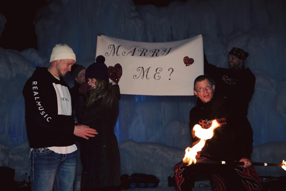 Creative Wedding Proposal
